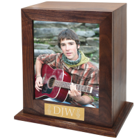 Elegant Photo Wood Adult Urn