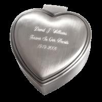 Graceful Heart Urn Keepsake