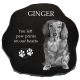 Granite Pet Headstone Marker- Rustic02 -  - PetRustic02