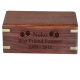 Perfect Wooden Box Urn, Small -  - SWH-003A