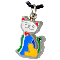 Pet Cremation Jewelry Stainless Steel My Sweet Kitty Pendant