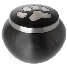 Pet Cremation Urns: Kitty Pawprint