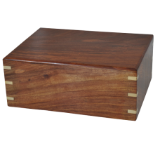 Pet Cremation Wood Urns: Perfect Wooden Box Cat Urn Large