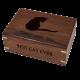Pet Cremation Wood Urns: Perfect Wooden Box Dog Urn Medium -  - SWH-003B