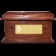 Pet Dog Cremation Wood Urns: Stately Wood Pet Dog Urn- Large -  - SWH-002L