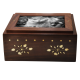 Photo Wood Cat Urn Slider -  - SWH-012 slide