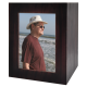 Quantity-Pack Urns: Dark Brown Wooden Box Urn with Photo Window -  - SWH-MDF-001 modified