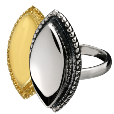 Urn Jewelry: Oval Ring