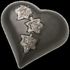 Urn Keepsake: Falling Leaves Heart