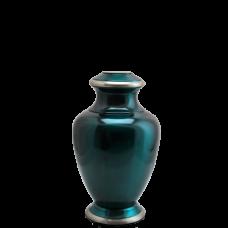 """Urn Keepsakes: Shiny Turquoise Blue Mini 3"""""""