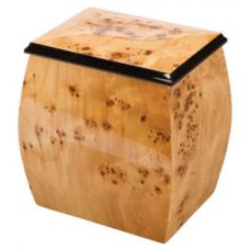 Oblique Treasure Chest Urn