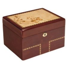 Burlwood Treasure Chest Urn
