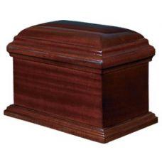 The Vintage Wood Urn