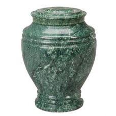 Green Earth Marble Keepsake Urn