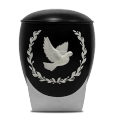 Peace Dove Resin Urn