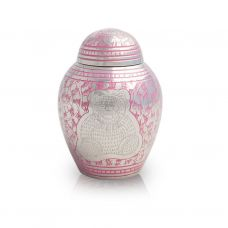 Teddy Bear Cremation Urn for Infants - Pink