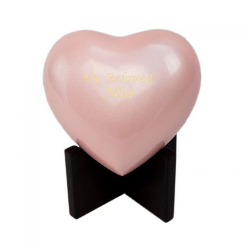 In Our Hearts Infant Cremation Urn - Pink -  - 2791H-CMACHS