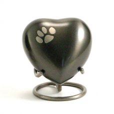 Slate Paw Pet Heart Keepsake