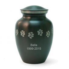 Slate Paw Cremation Urn - Medium