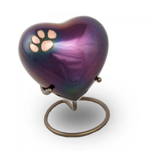 Raku Heart Pet Cremation Urn Keepsake -  - 2898H