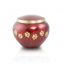 Extra Small Odyssey Pet Urns - Crimson
