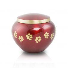 Small Odyssey Pet Urns - Crimson
