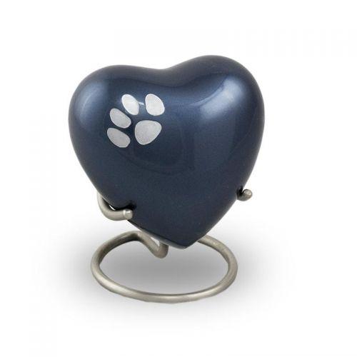Odyssey Pet Paw Heart Keepsake - Midnight Blue -  - 2921H