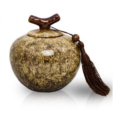 Branch Ceramic Cremation Urn - Medium
