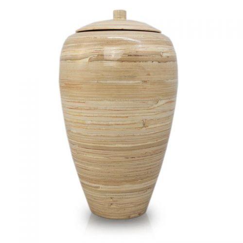 Tall Bamboo Cremation Urn- Natural -  - BV10N