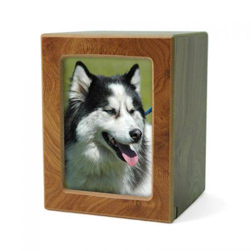 MDF Pet Photo Cremation Urn - Small -  - CMPB-40