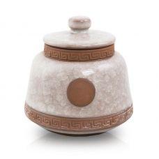 Iridescent Ceramic Pet Urn - Small