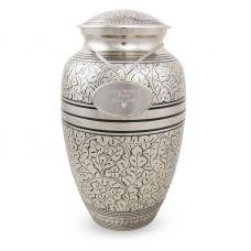 Silver Oak Cremation Urn - Large