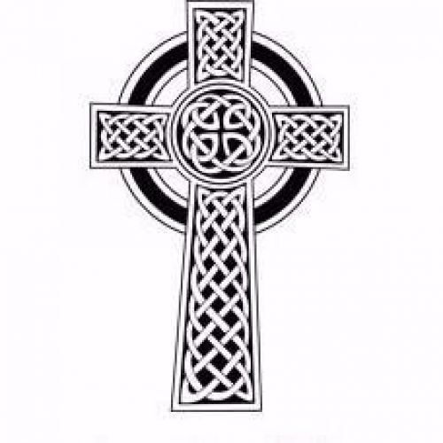 Celtic Cross Engraving - Large -  - ENGRAVING-CELTIC