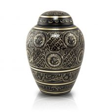 Radiance Brass Pet Cremation Urn