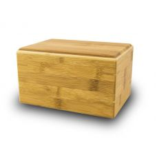Pet Cremation Urn Bamboo Box - Medium
