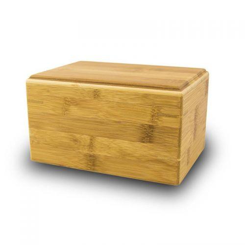 Pet Cremation Urn Bamboo Box - Medium -  - CB-85
