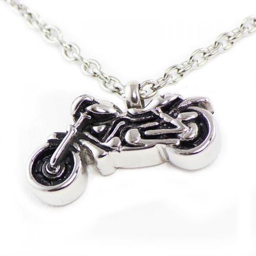 Motorcycle Cremation Necklace -  - TB-P1201