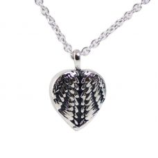 Wrapped in Love Stainless Steel Cremation Necklace