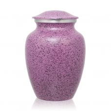 Two-Tone Lilac Classic Cremation Urn - Medium