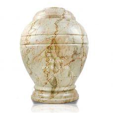 Alluvium Marble Cremation Urn - Large