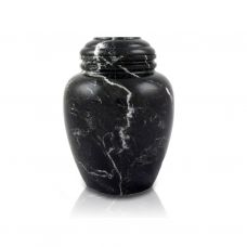 Noire Marble Pet Cremation Urn - Extra Small