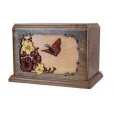 Beautiful Butterfly Urn