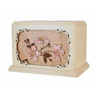 Cherry Blossom Floral Urn