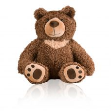 Loving Teddy Bear Dark Brown Keepsake Urn