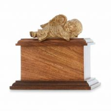 Golden Baby Peaceful Rest Infant Angel Urn
