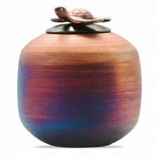 Raku Sea Turtle Cremation Urn