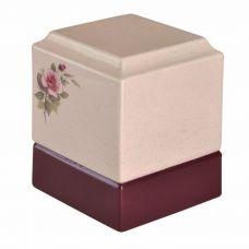 Pink Rose Urn