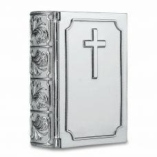 Holy Bible Silver Children's Urn