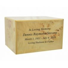 Lincoln Wood Cremation Urn