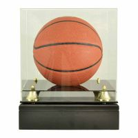 Basketball Glass Display Cremation Urn (Ball not included)